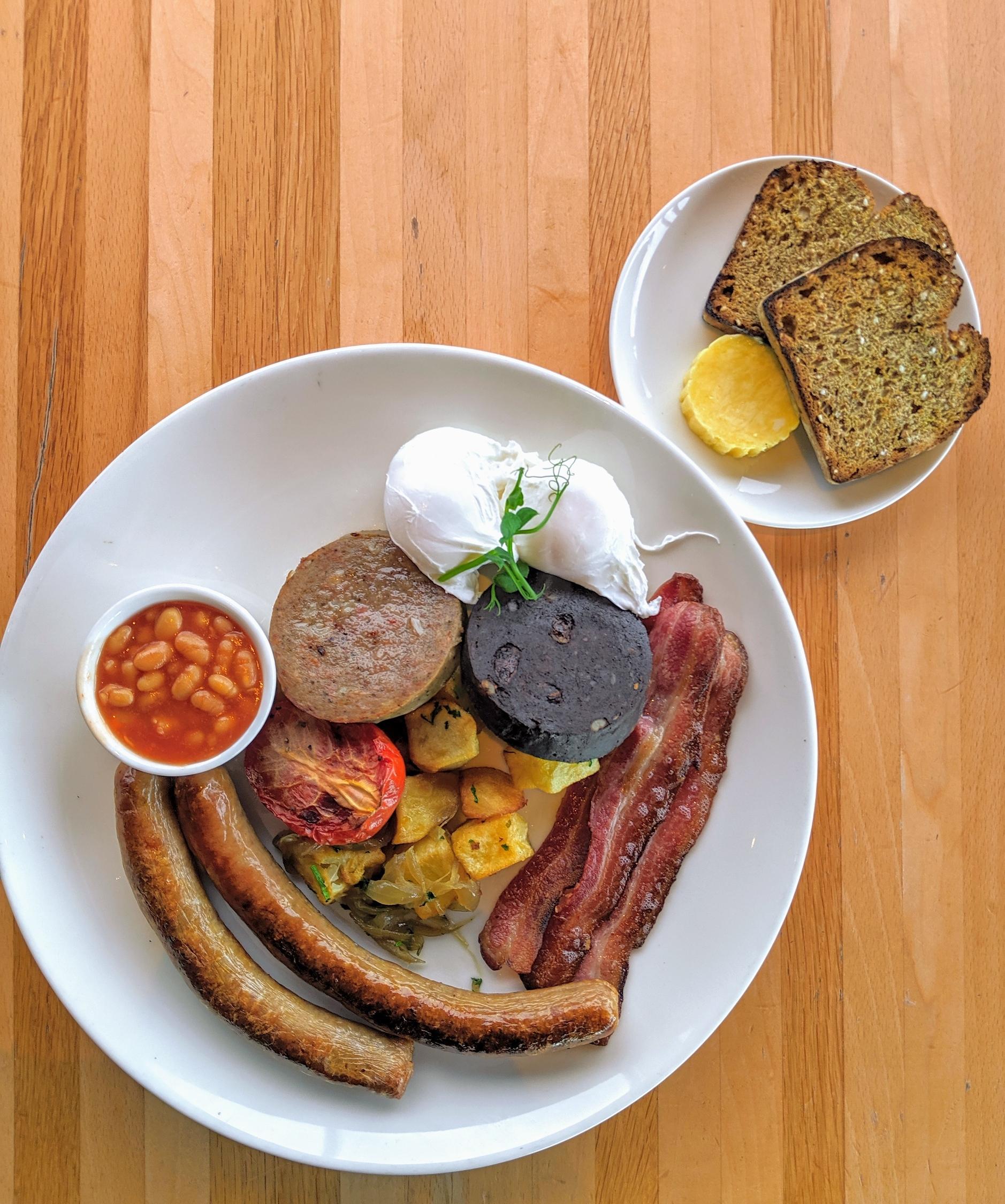 Full Irish Breakfast from The Dean Hotel