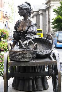 Molly Malone Statue, Grafton Street, Dublin