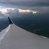 In a Holding Pattern - Thunderstorms over Atlanta