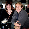 Marilyn Weaver and Chris Stewart in the Guinness Factory