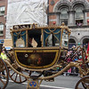 Carriage in the St. Patrick's Day Parade in Dublin