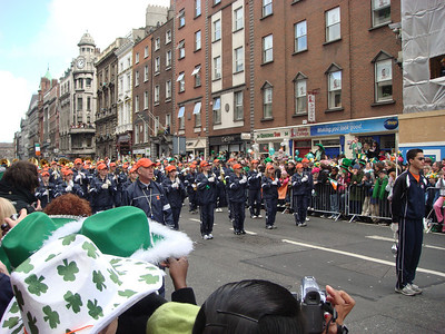 The Marching Illini in the St. Patrick's Day Parade, Dublin