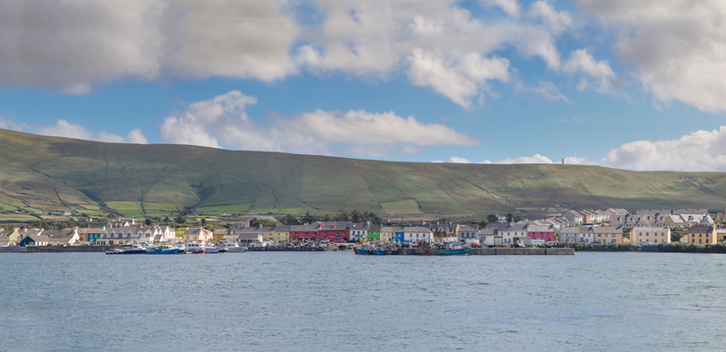 Panoramic view of Portree