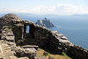 View of Little Skellig from Skellig Michael, Co, Kerry