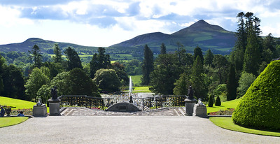 Sugarloaf Mountain View, Gardens of Powerscourt, County Wicklow