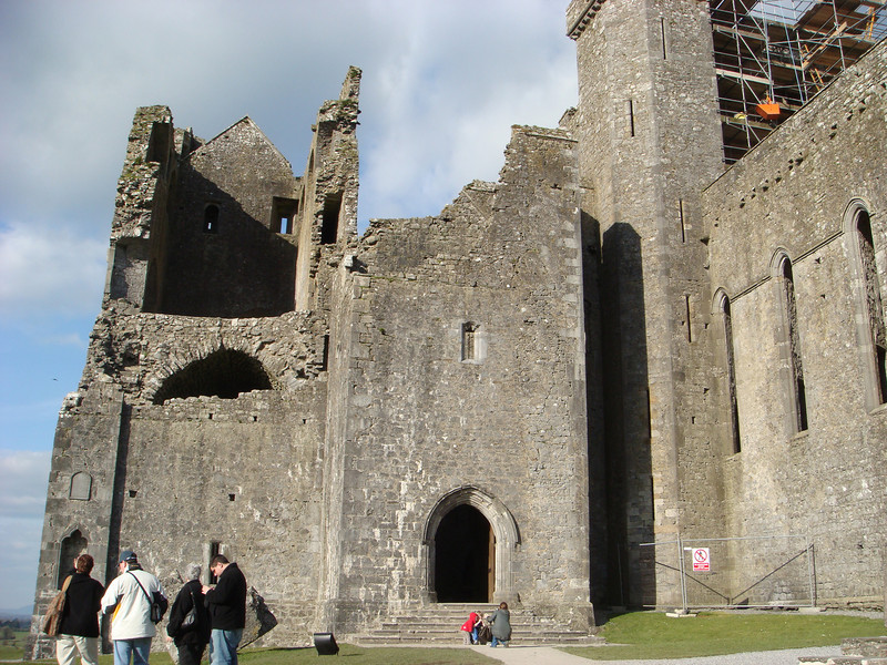 Ruins of the church at the Rock of Cashel