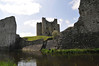 Trim Castle and the remains of the permiter wall.