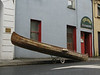 True to its maritme origins, the city of Galway maintains on street parking available for boats.