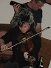 At Brian's Birthday party they played some traditional irish fiddle tunes.