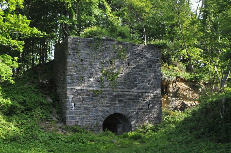 Stone abutment in Killarney National Park