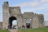 The main archway - now the visistors center & entrance to Trim Castle ruins.
