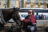 Tanya and the horse from our Jaunting Cart ride