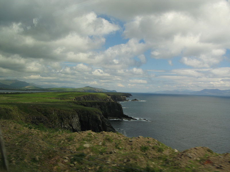 Seacoast along the Dingle Peninsula