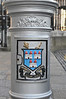 Lamp post base detail.  Downtown Dublin.