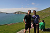 James and Trevor on the Dingle Peninsula