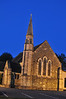 Church in Killarney at night