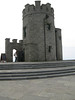 the lookout tower at the Cliffs of Moher.  At 2 euro to climb the tower, it was the bargain of the week.