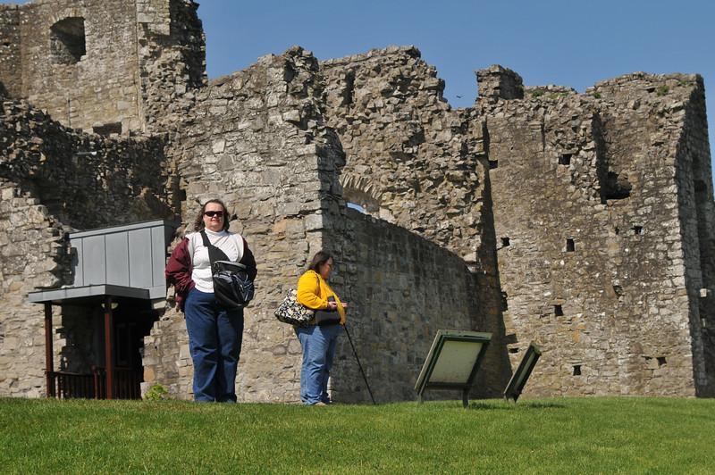 Tanya at Trim Castle