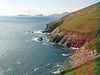 Scenic coastline along the Dingle Peninsula