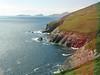 Scenic coastline along the Dingle Peninsula