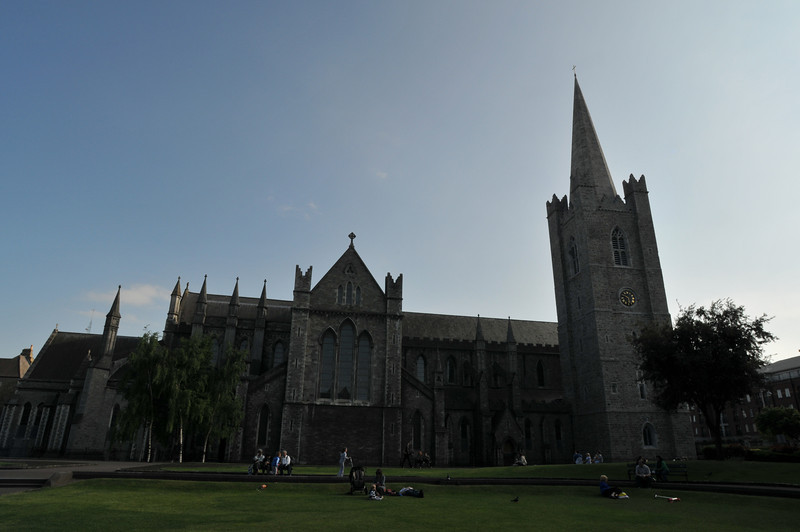 St. Patrick's Cathedral from the park.