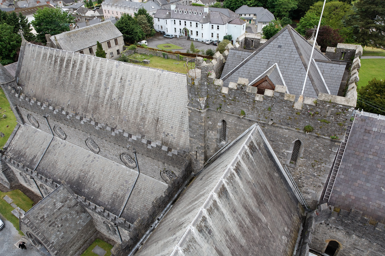 St. Canice's Cathedral, Kilkenny (View from the top of the round tower)