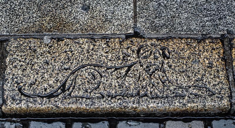 Engraved rimstone