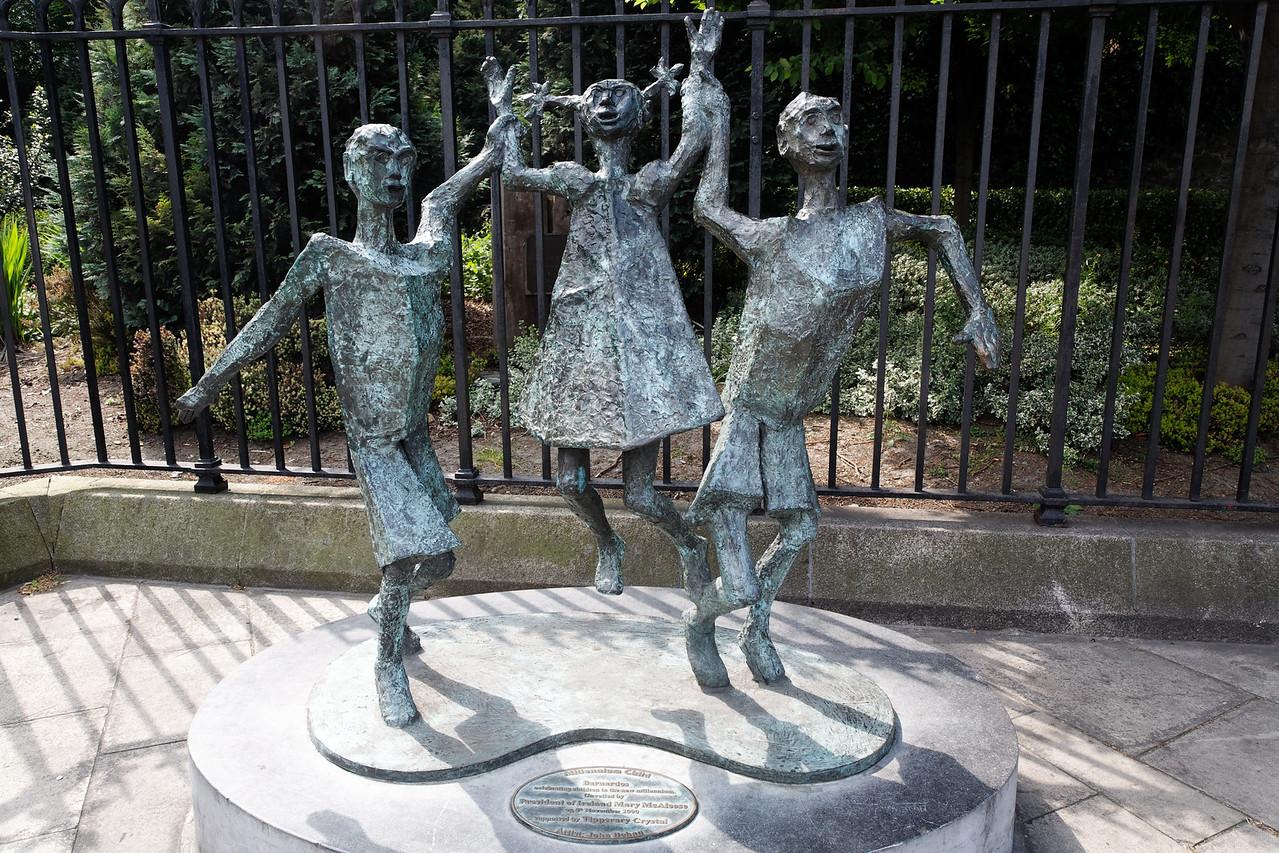 Public sculpture, Dublin