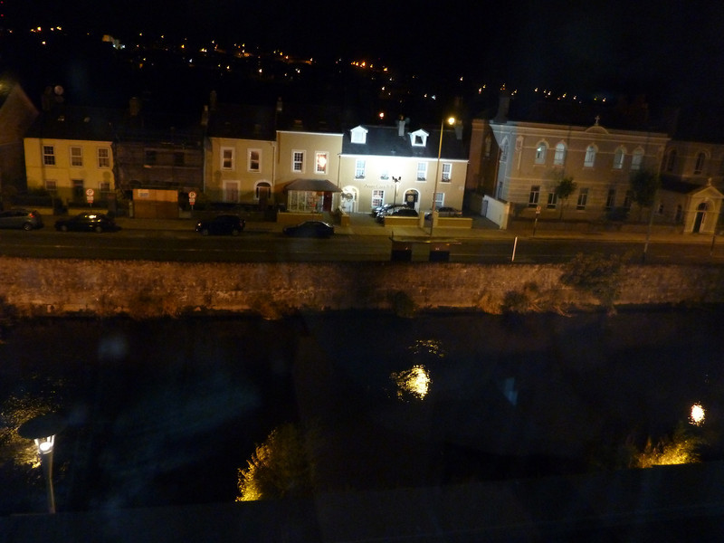 view from the hotel in Cork
