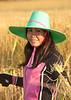 Duangchan Harvests Rice