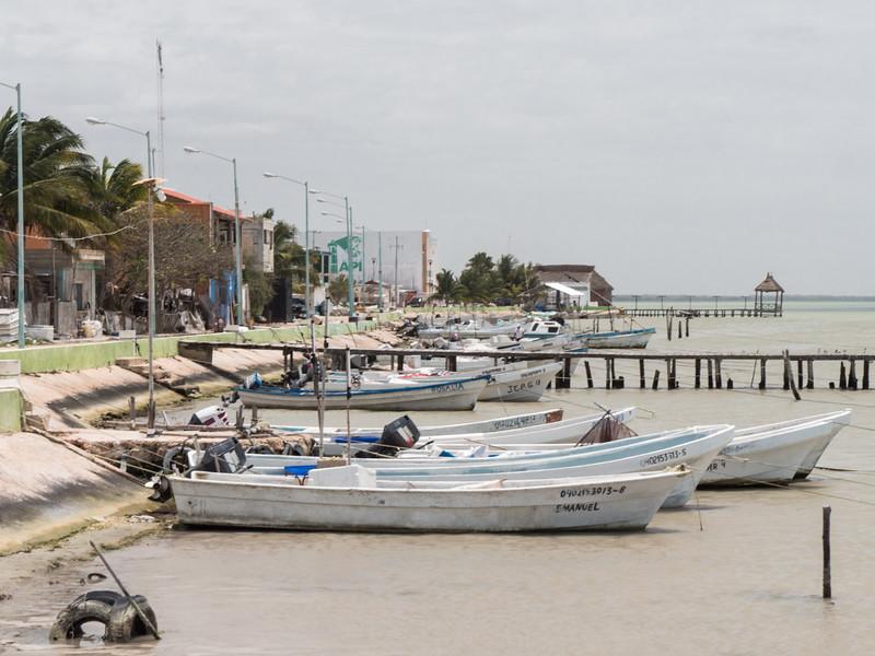 Isla Arena fishing boats.