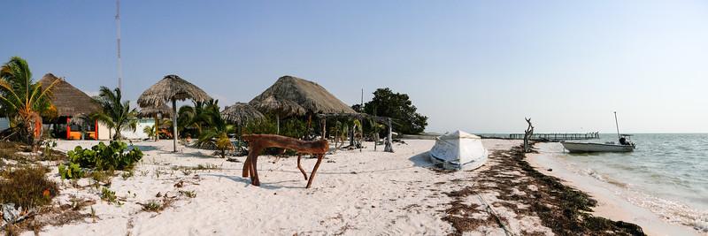 Tunnben Kin (Mayan for New Sun), is a traveler's lodge.