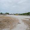 Abandoned soccer field.