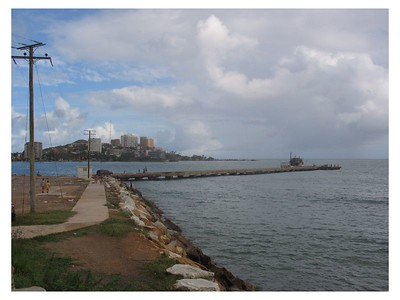 View from the Old Fort, Porlamar