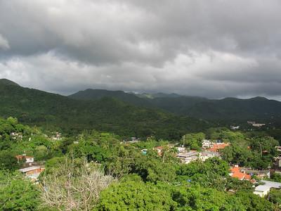 View from Castillo Santa Rosa