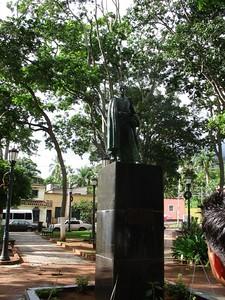 Statue of Simon Bolivar, La Asunción