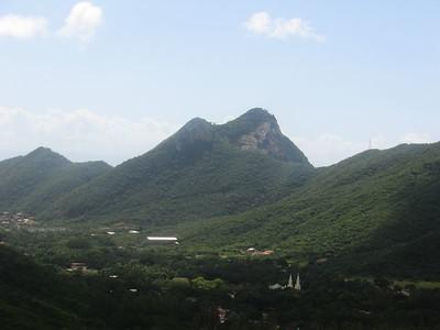 View of El Valle del Spirito Santo