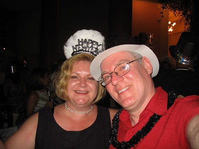 Lauralea and Gary on New Year's Eve