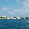 View of Isla Mujeres from ferry