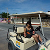 Our golf cart