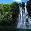 Compara la cascada con Marie, en el margen izquierdo
