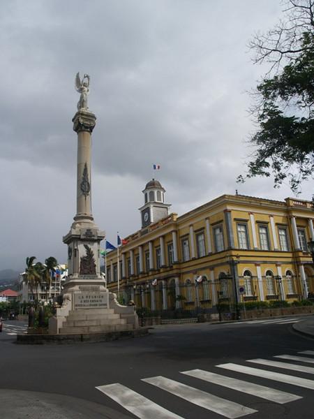 La capital, St. Denis