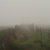 Todo el día lloviendo, con el agua hasta las rodillas y un horizonte poco esperanzador.