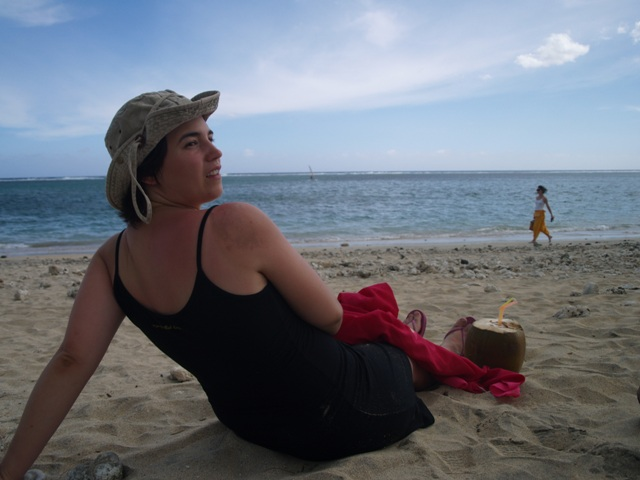Playa, sol y coco, que más se puede pedir