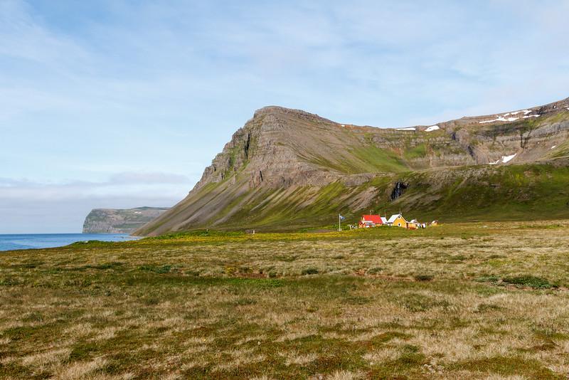 Das einzige Haus in Hlöðuvík