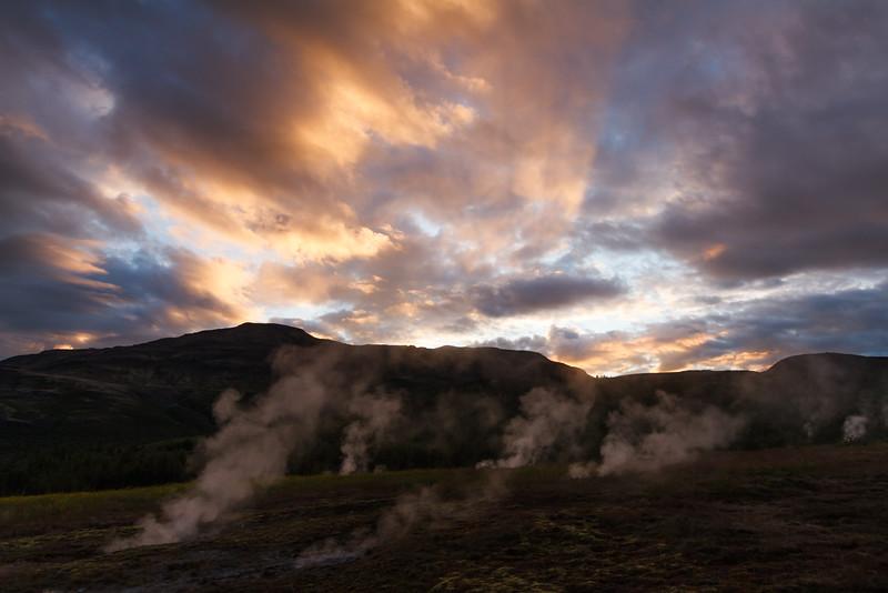 Geothermalgebiet beim Geysir