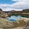 Kratersee in einem der Lakikrater