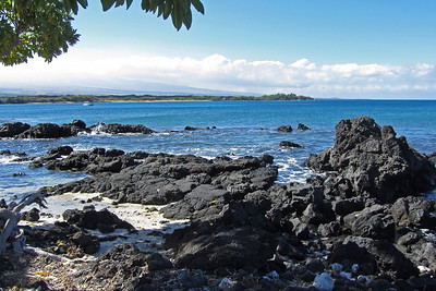 Scenery along the Kohala Coast on the west side of Big Island