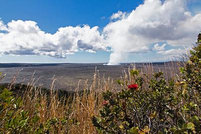 Viewing Kilauea Crater