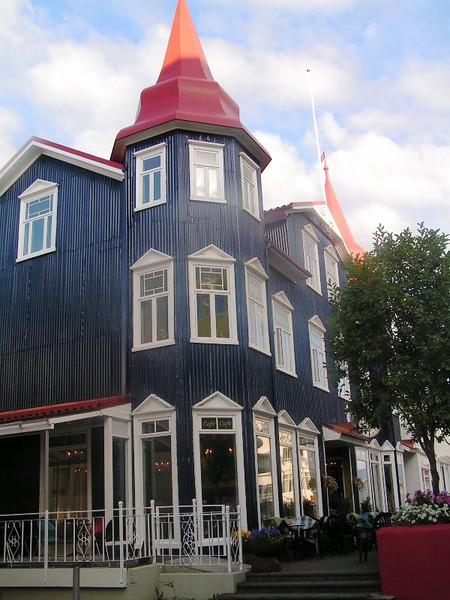 Akureyri, ciudad al norte de la isla